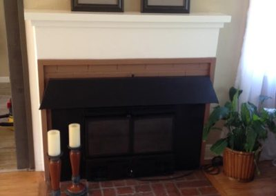 Fair Oaks, CA, Eucalyptus, Fireplace-1