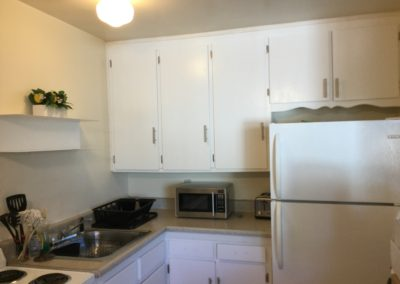 Sacramento, CA, 1st Ave, Apt 5, Rehab Kitchen Cabinets-After